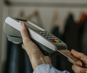 Payment by Credit Card Stock Photo 02