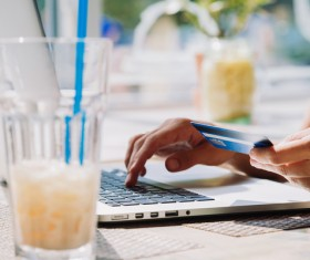 Payment by Credit Card Stock Photo 07