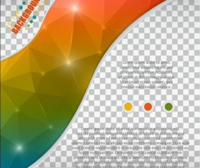 Polygon abstract background illustration vector 01
