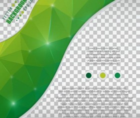 Polygon abstract background illustration vector 04