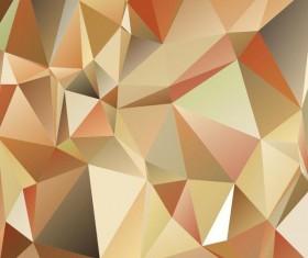 Polygon embossment backgrounds vector 08