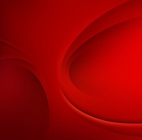 Red wavy background abstract vector 03