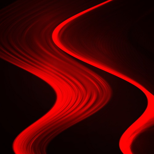 Red wavy background abstract vector 05