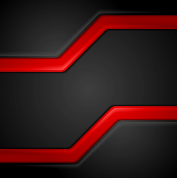 Red with black corp vector background
