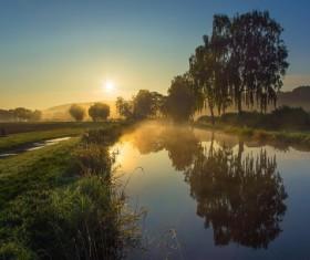 Rising Sunrise Stock Photo
