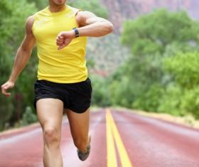 Running man Stock Photo 01