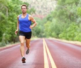 Running man Stock Photo 02