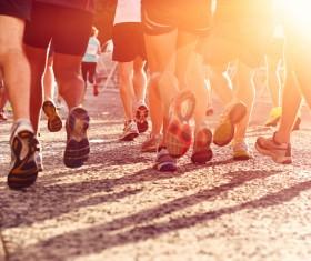 Running man Stock Photo 03