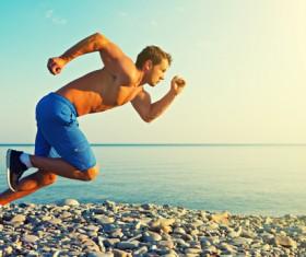 Running man Stock Photo 04