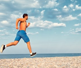 Running man Stock Photo 05