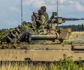 Tank troops Stock Photo