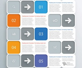 Text infographic illustration vector 03