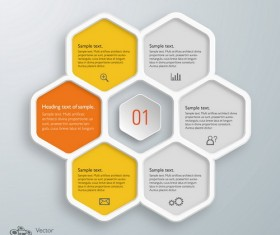 Text infographic illustration vector 04