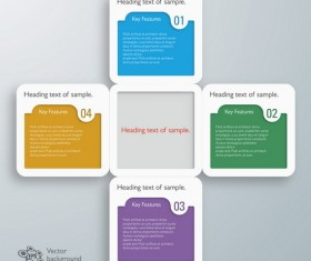 Text infographic illustration vector 07