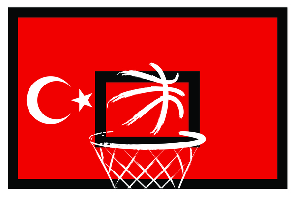 Turkish styles basketball background vector 06