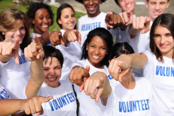 Volunteers Team Stock Photo 03