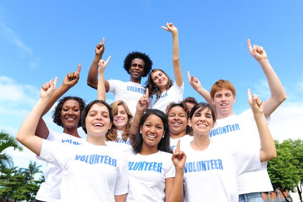 Volunteers Team Stock Photo 05