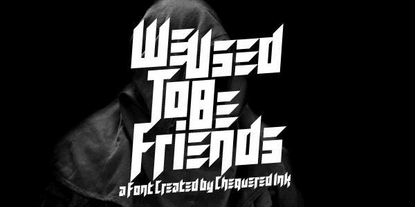 We Used To Be Friends font