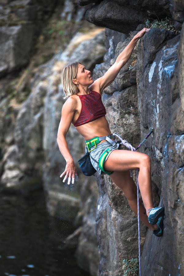 Young climbers climbing Stock Photo 09