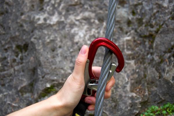 Young climbers climbing Stock Photo 12