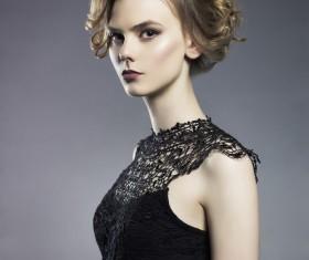 glamorous stylish girls Stock Photo 05