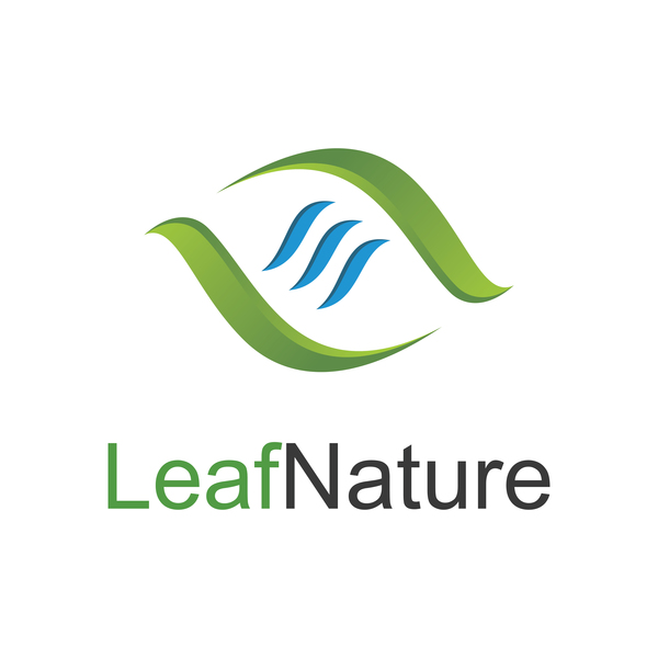 leaf nature logo vector