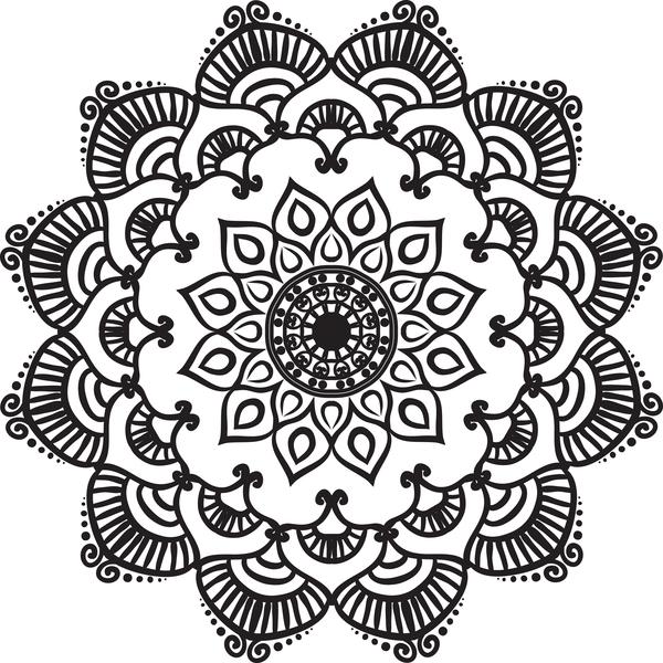 mandala lineart ornament vector material 12