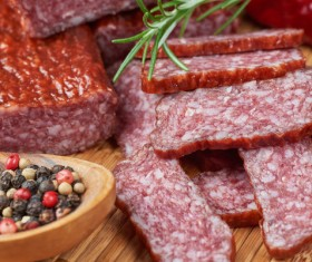 meat products sausages Stock Photo 05