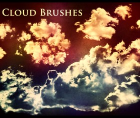 50 Cloud Photoshop Brushes