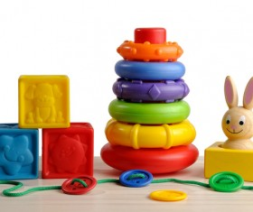 All kinds of Kids Toys Stock Photo 01