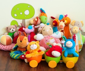 All kinds of Kids Toys Stock Photo 02