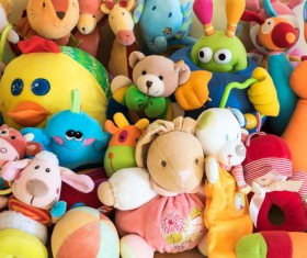 All kinds of Kids Toys Stock Photo 04