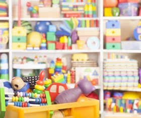 All kinds of Kids Toys Stock Photo 05