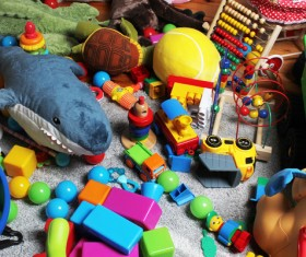 All kinds of Kids Toys Stock Photo 07
