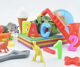 All kinds of Kids Toys Stock Photo 10