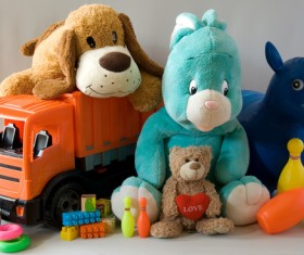 All kinds of Kids Toys Stock Photo 11