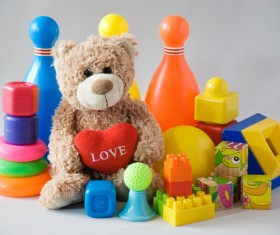 All kinds of Kids Toys Stock Photo 12