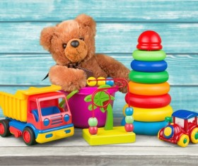 All kinds of Kids Toys Stock Photo 14