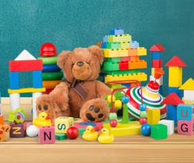 All kinds of Kids Toys Stock Photo 15