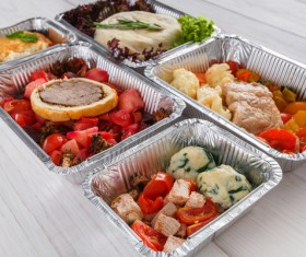 All kinds of takeaway food Stock Photo 11