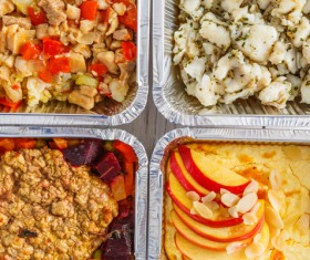 All kinds of takeaway food Stock Photo 12
