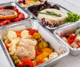 All kinds of takeaway food Stock Photo 14