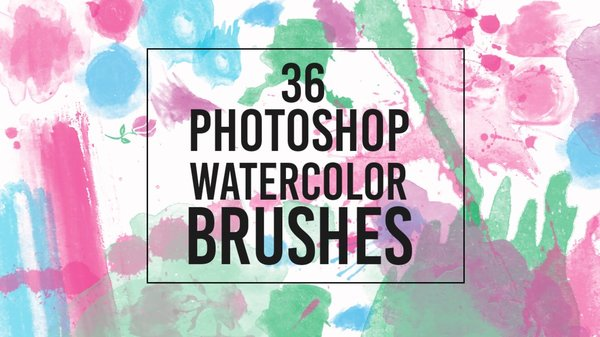 Aquarela Photoshop Brushes