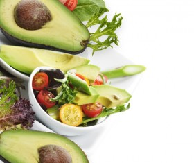 Avocado Saint fruit platter Stock Photo