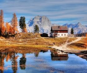 Beautiful autumn landscape Stock Photo
