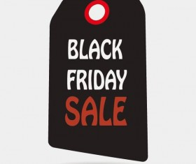 Black friday sale tags template vectors 02