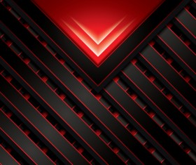 Black with red metal background vectors material 03
