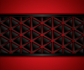 Black with red metal background vectors material 04