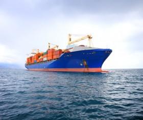 Cargo marine logistics Stock Photo 02