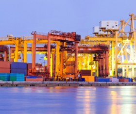 Cargo marine logistics Stock Photo 04